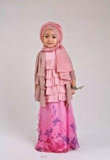 Hijab simple untuk anak perempuan