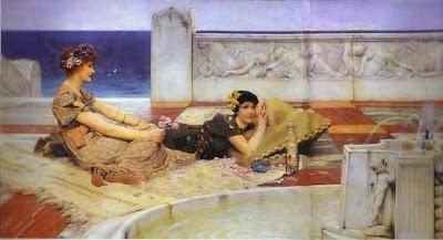 Devots de l'amor (Sir Lawrence Alma-Tadema)
