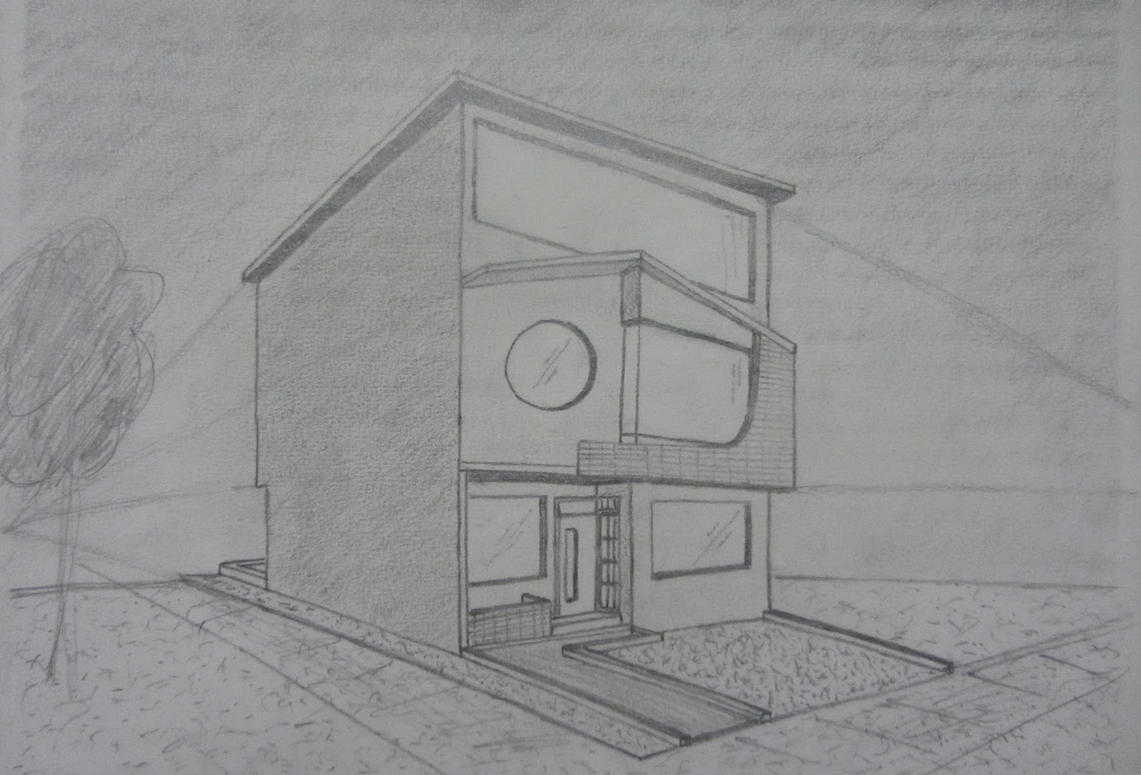 El arte del dibujar - Casas dibujadas a lapiz ...