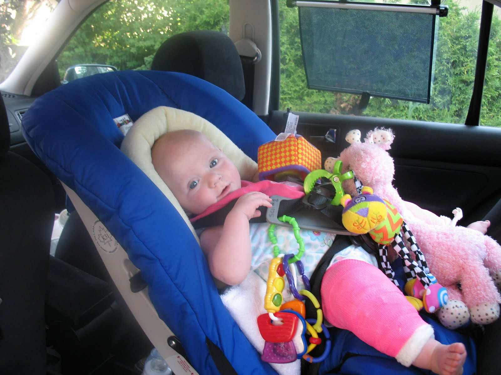 Addie\'s Journey: Adjusting to the Hippo Car Seat