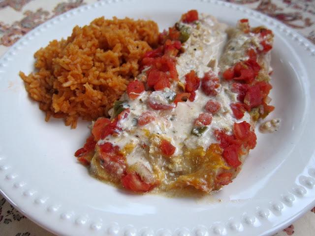 Chicken Chalupas Casserole