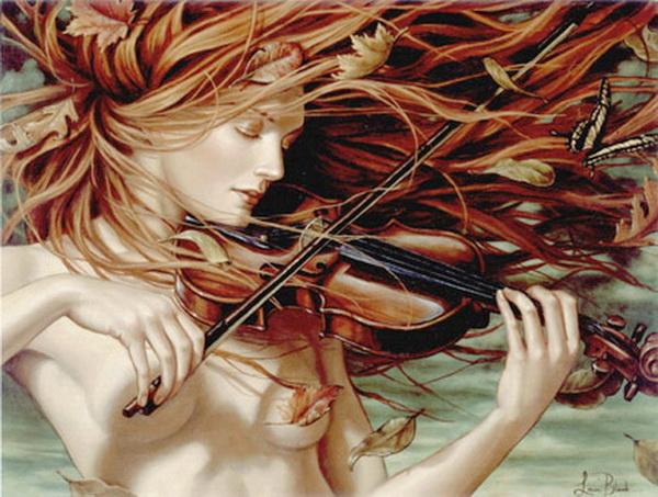 Lauri Blank | pintor americano Figuritism Romántico