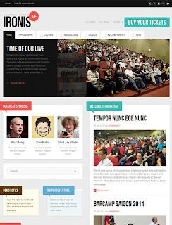 JA Ironis - August 2011 Joomla Template