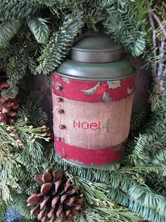 christmas pantry tin
