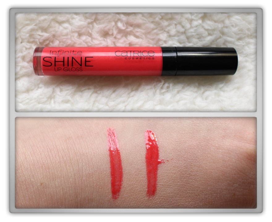 Catrice Nude Purism Pure march 2015 haul reviewinfinite shine lip gloss 160 walk the coraline swatch