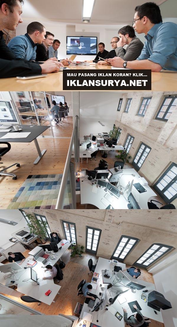 desain kantor futuristik