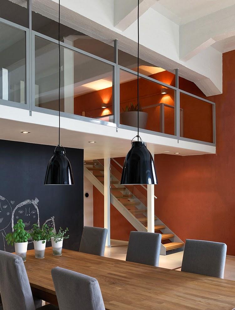 d couvrir l 39 endroit du d cor mur brun rouille. Black Bedroom Furniture Sets. Home Design Ideas