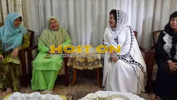 Datin Rosmah ziarah keluarga Allahyarham Nik Aziz