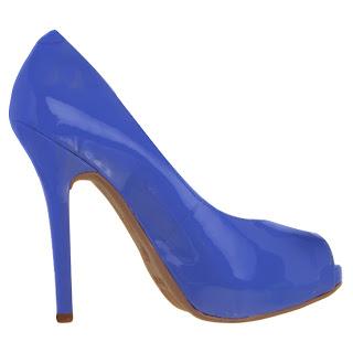 Via Marte - Coleção Verão 2013 sapato azul