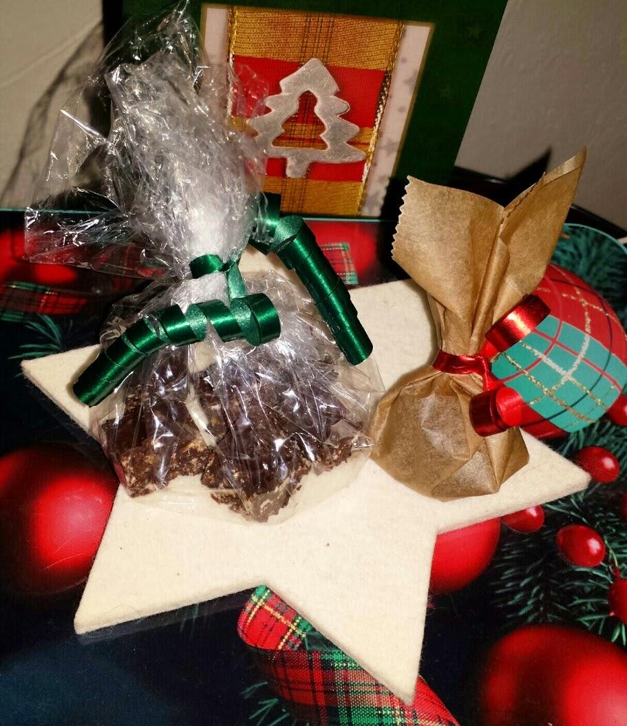 Rumkugeln, weihnachtliche Knusperwürfel