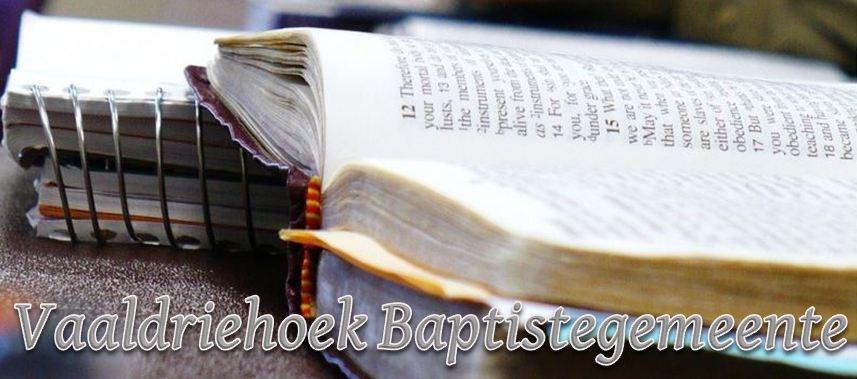 Vaaldriehoek Gereformeerde Baptistegemeente