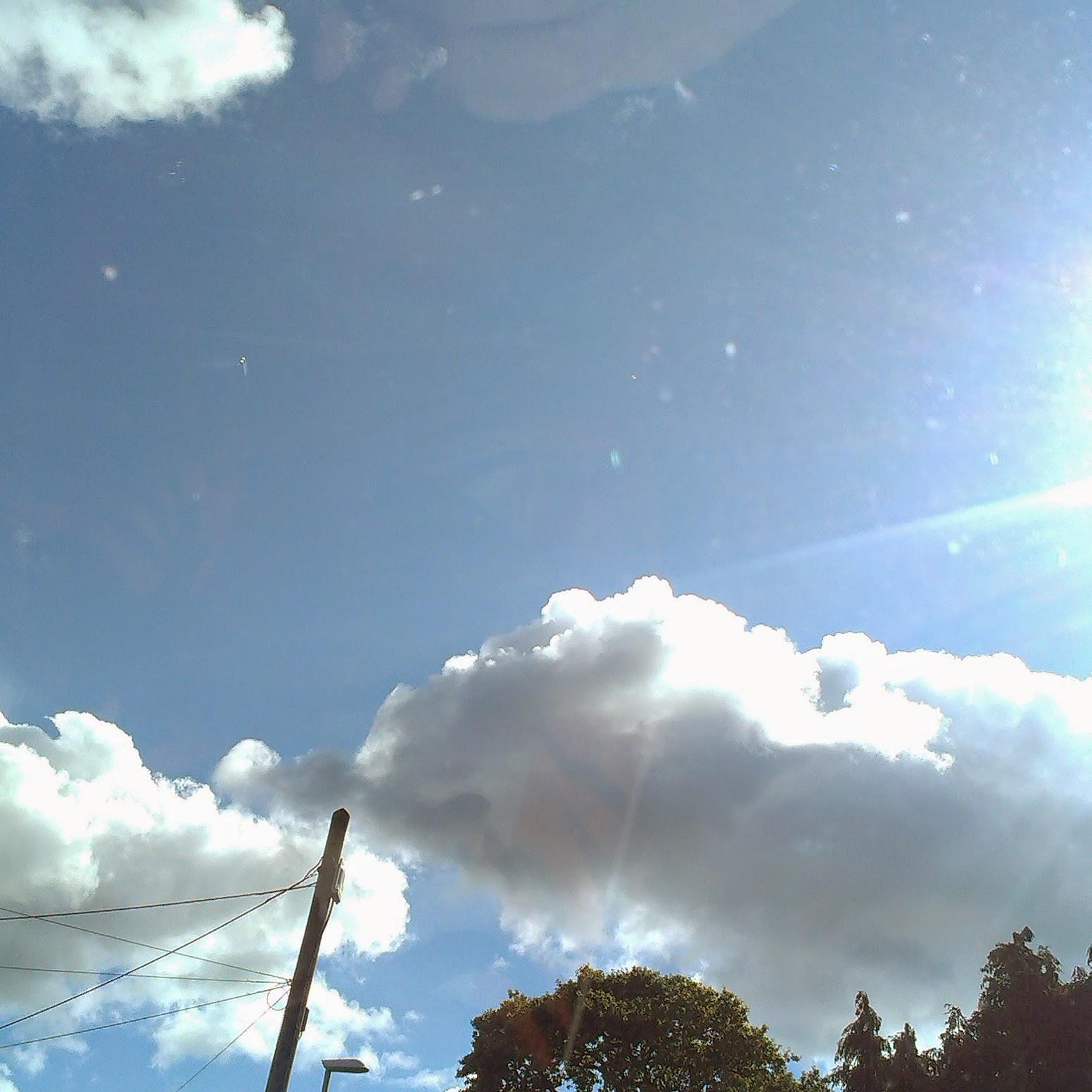 10am - blue sky