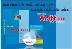 Cung cấp phần mềm dự toán Acitt bản quyền cập nhật mới nhất đến năm 2014