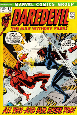 Daredevil #83, Black Widow accused of murder