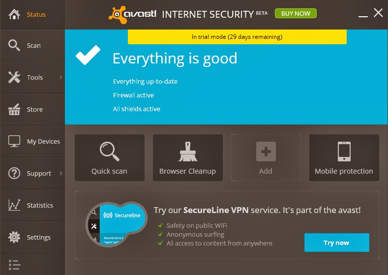 Avast Internet Security 2013