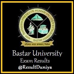 Bastar University BA Result 2015