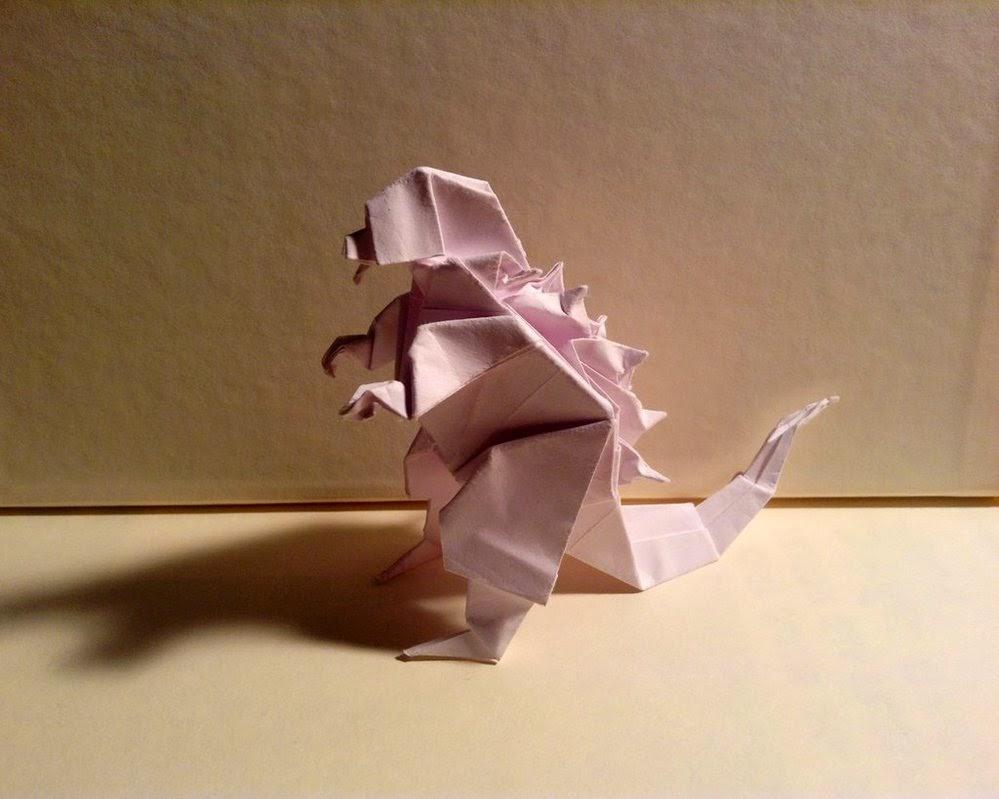 origami godzilla