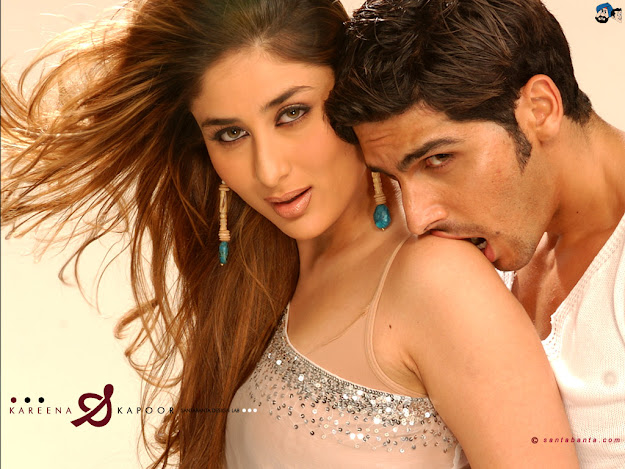 zayed khan Biting kareena kapoor Shoulder  - zayed khan Biting kareena kapoor Shoulder - Hot Wallpaper