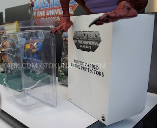 Mattel Matty Collector 2013 Toy Fair Display - Masters of the Universe MOTU Classics Carded Figure Protectors