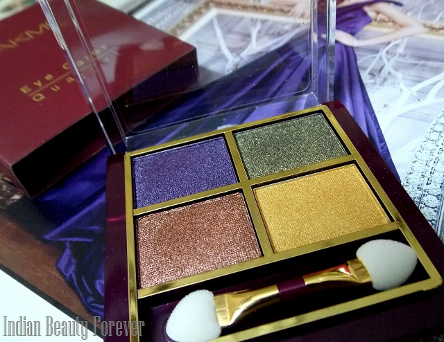 Lakme Eyeshadow Quartet Tanjore Rush Review, price