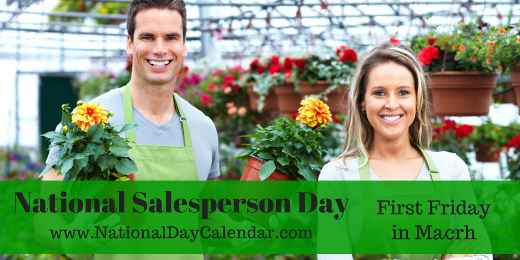 HAPPY NATIONAL SALESPERSON DAY