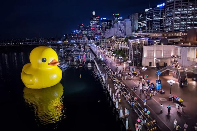 pato de goma más grande del mundo Taiwan