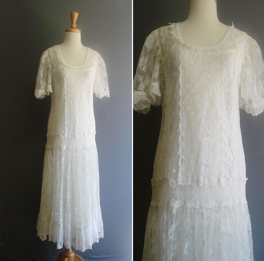 Blush wedding event planning firm the dress a brief for Wedding dresses in the 1920s