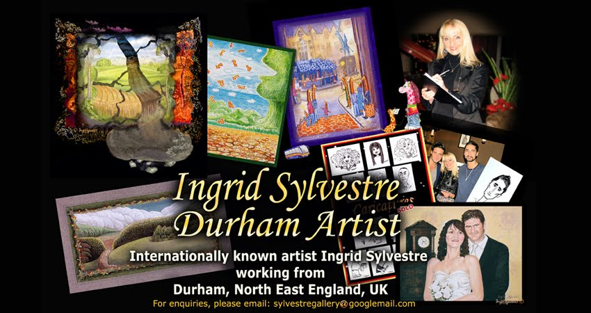 Ingrid Sylvestre Artist in Durham UK