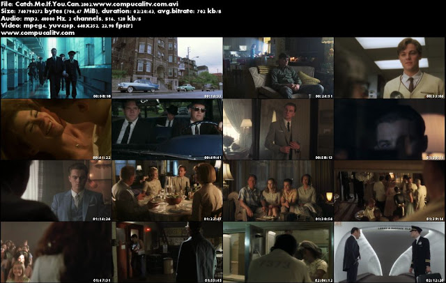 Catch Me If You Can DVDRip Español Latino Película