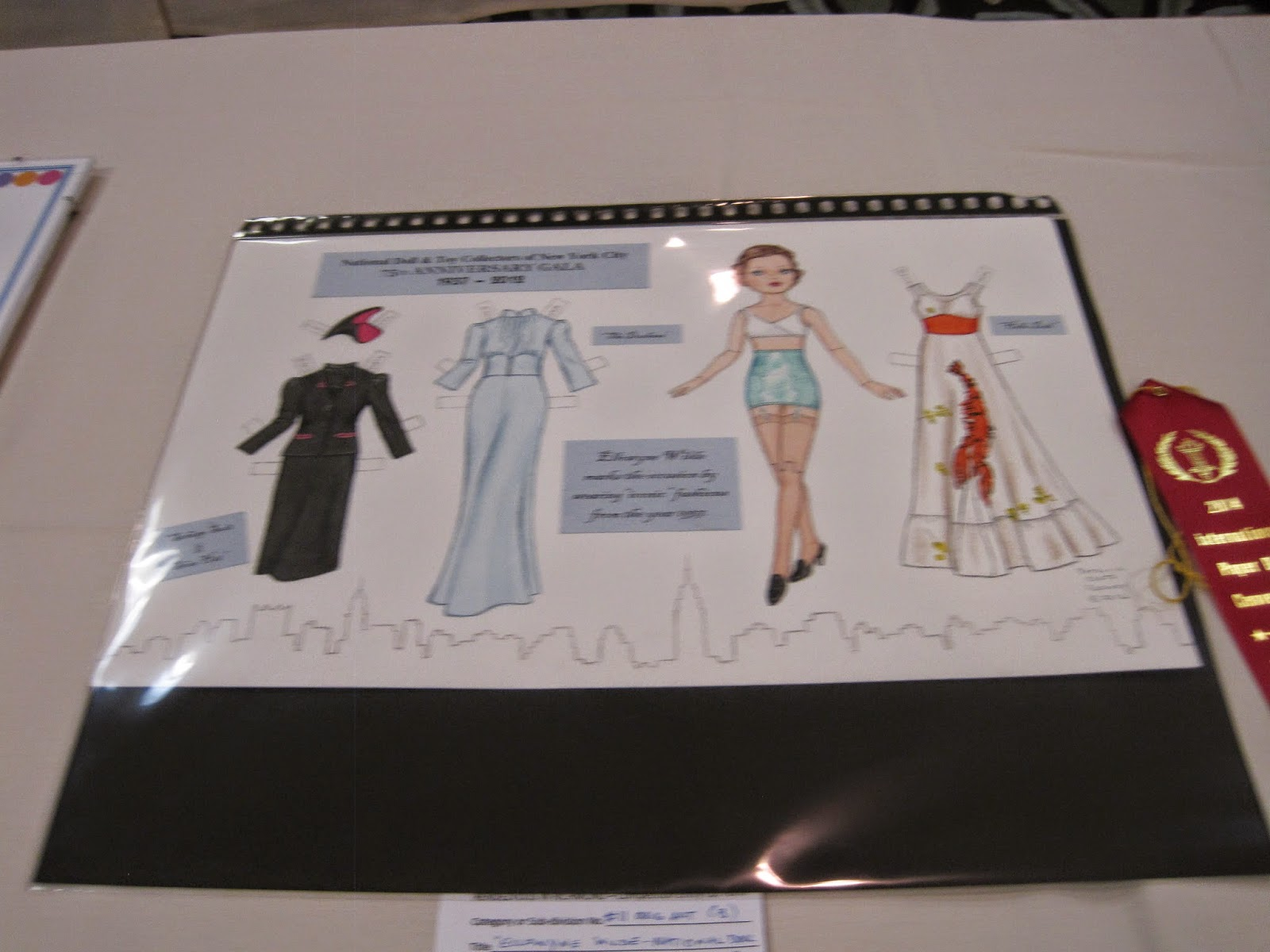 2014 Paper Doll Convention In Richmond