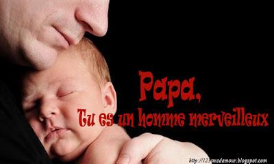 Message d'amour pour son père