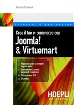 Crea il tuo e-commerce con Joomla! & Virtuemart - eBook