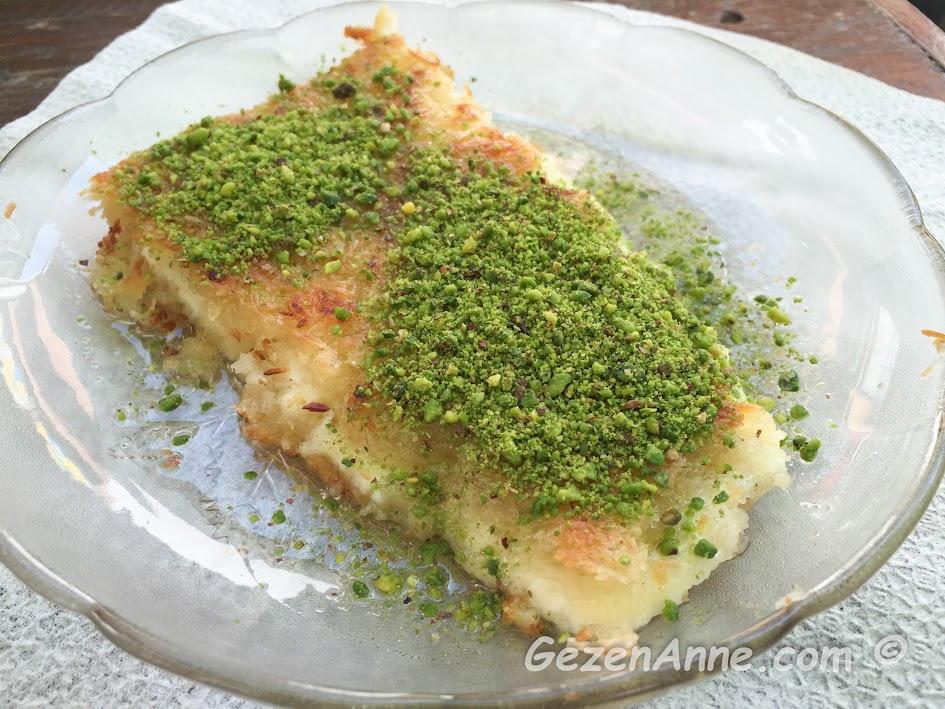 Çınaraltı Künefe Yusuf Usta'da şahane lezzetteki künefe, Antakya Hatay