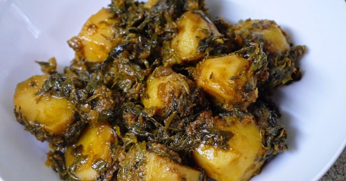 This Muslim Girl Bakes: Aloo Methi (Potato and Fenugreek Curry)
