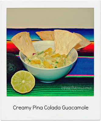 Creamy Pina colada Guacamole Recipe - YOPA Yogurt
