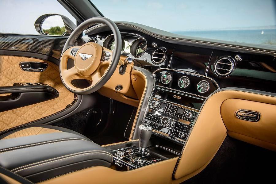 Bentley Mulsanne Speed (2015) Interior
