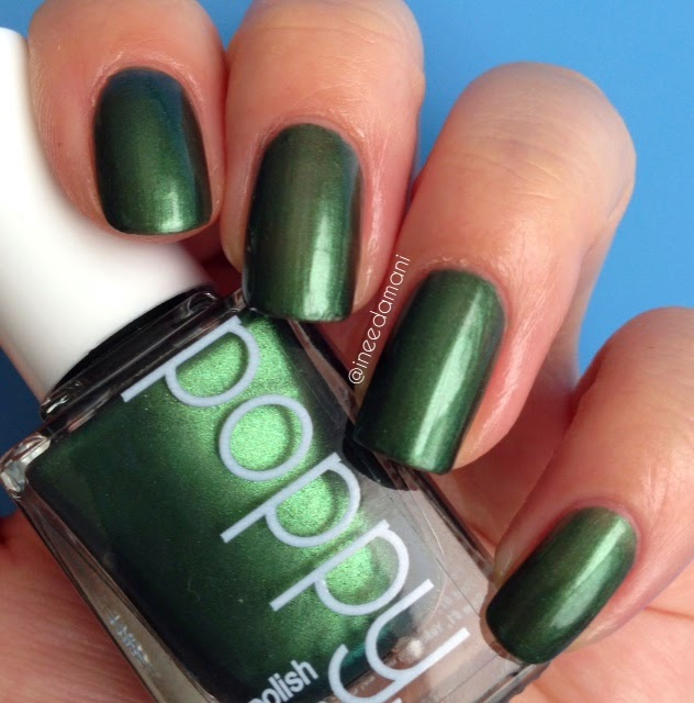 poppy nail polish cyprus dreams nail swatch review