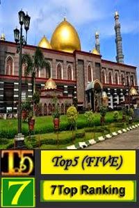 7 Masjid Berkubah Emas di Dunia