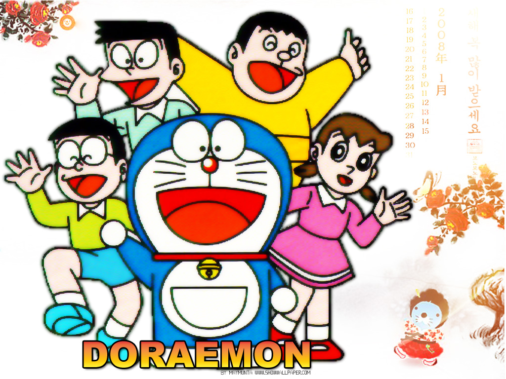 Doraemon Family Drawing or How to Draw Cartoons