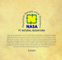 SALAM SEHAT DISTRIBUTOR NATURAL NUSANTARA