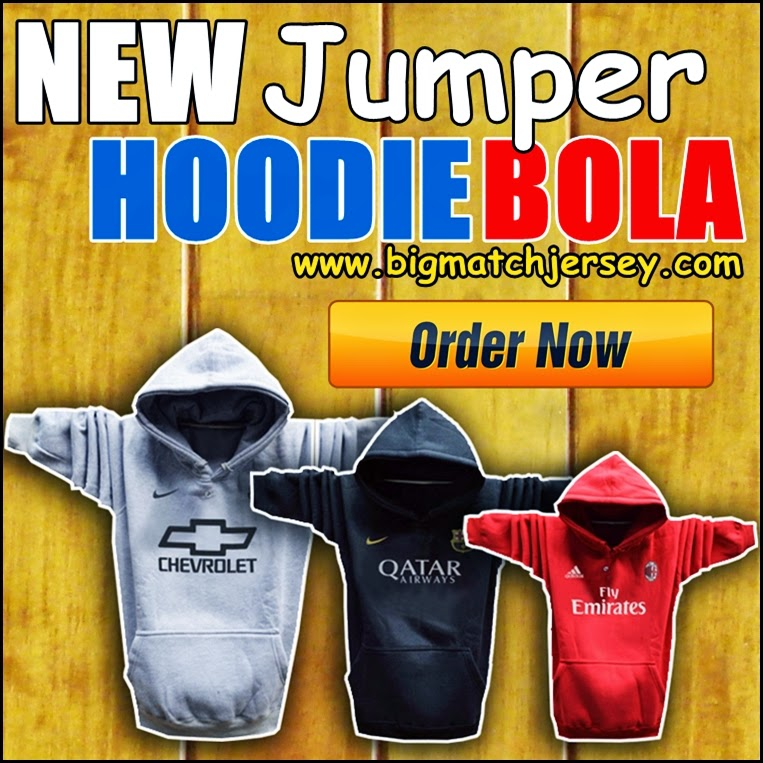 New Hoodie Bola Satu Warna 2014 - 2015 Big Match Jersey