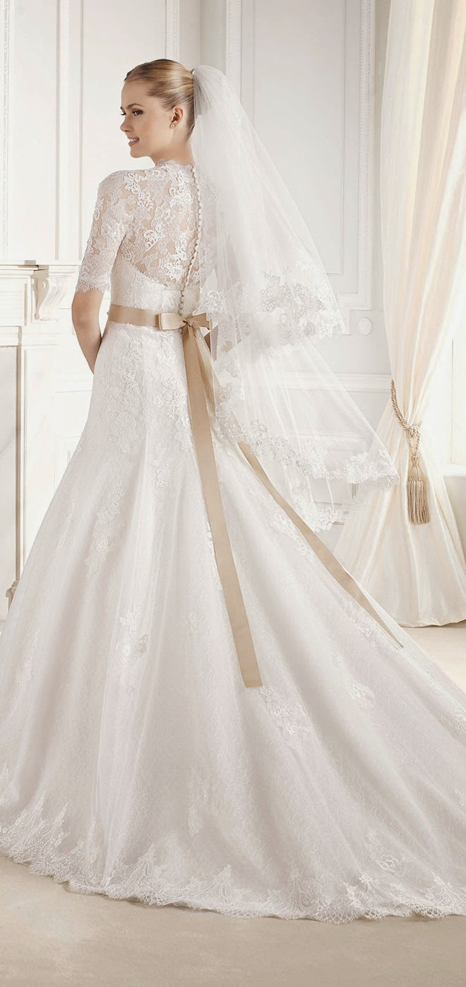 La sposa barcelona 2015 bridal collections belle the magazine ombrellifo Image collections