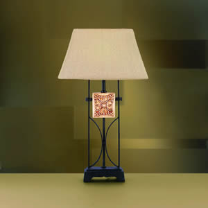 Kichler 70504 Outdoor Table Lamp Distressed Black