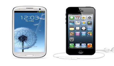 Perbandingan Samsung Galaxy S3 dan iPhone 5