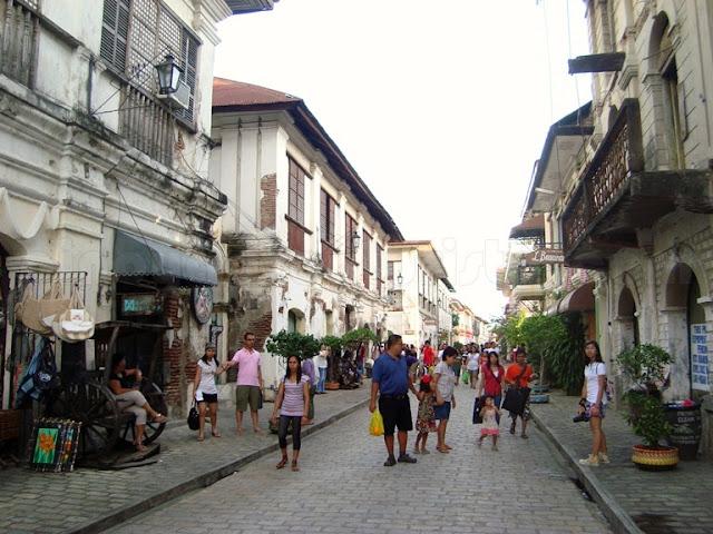 Vigan Ilocos Sur Tourist Spots