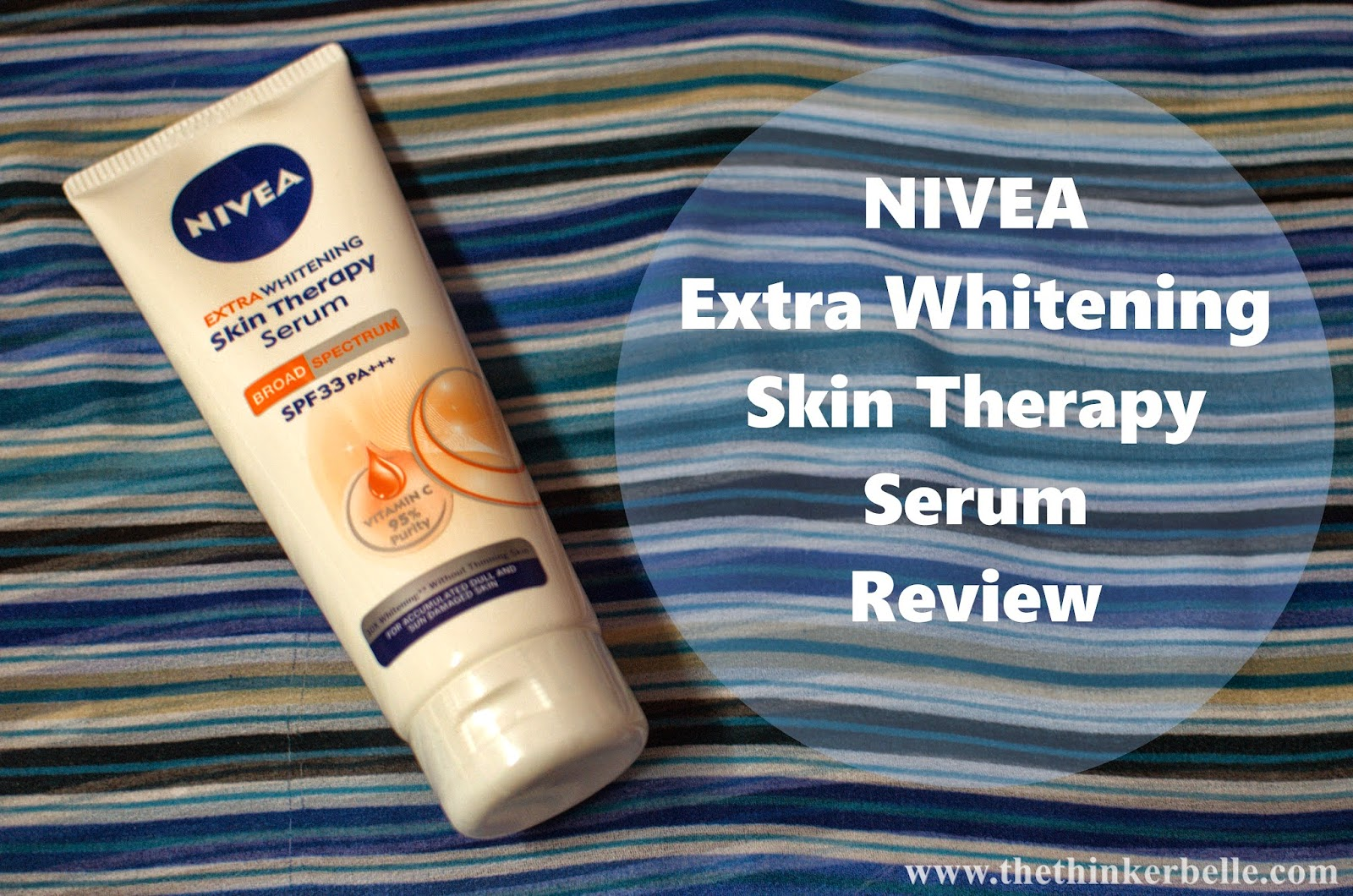 Nivea Extra Whitening Skin Therapy Serum Get Fairer In 14 Days Sun Lotion Giveawayclosed