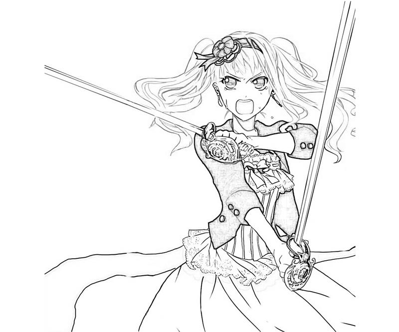 elizabeth midford skill coloring pages
