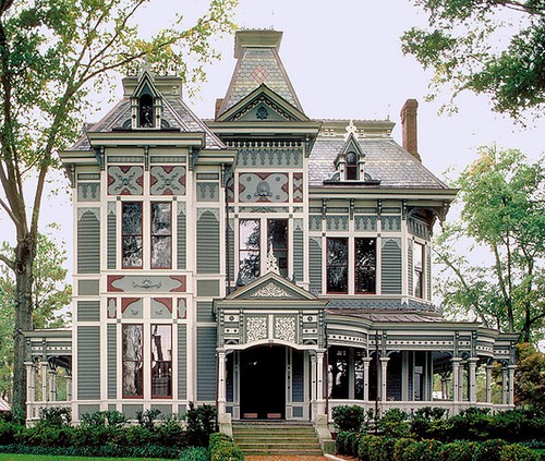 Amanda cromwell get inspired victorian style exterior for Victorian stick style house plans