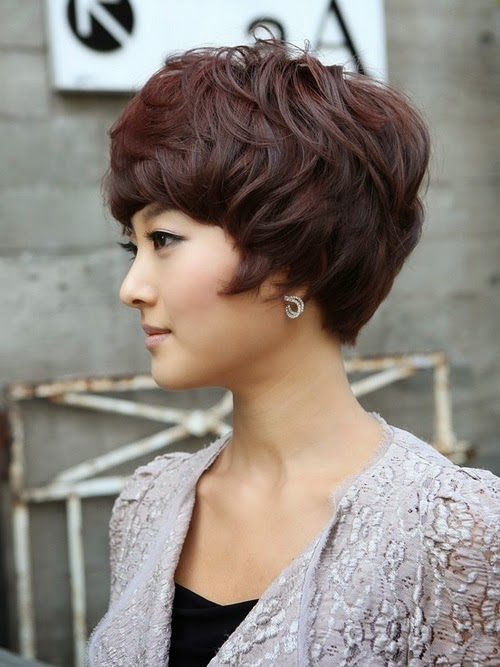 short wavy hairstyles for thin hair 2014