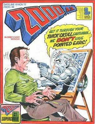 2000 AD #39, November 1977